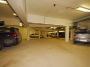 Parking place in the underground garage