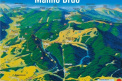 summer map of ski resort Ski Park Malino Brdo Ružomberok
