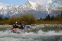 Rafting on the river is the perfect adrenaline